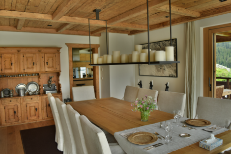Chalet WEF Dining